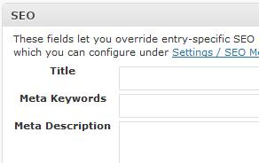 Changing page title and meta-tags in Semiologic